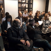 Chatbot workshop audience – cropped