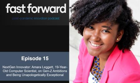 Next-Gen Innovator: Amara Leggett, 19-Year-Old Computer Scientist, on Gen-Z Ambitions and Being Unapologetically Exceptional