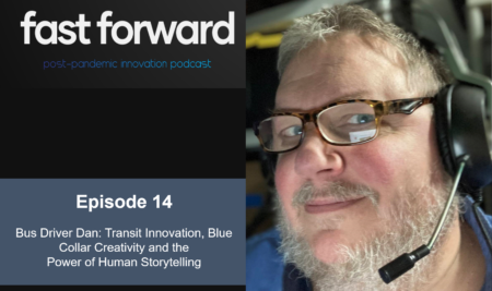 """Bus Driver Dan"" Talks Transit Innovation, Blue Collar Creativity and the Power of Human Storytelling"
